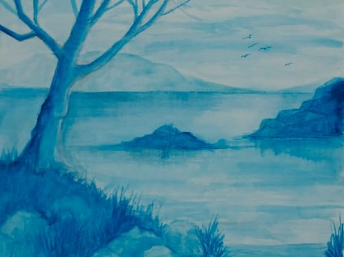 oil-painting-blue-tree-vera