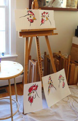 Claudia's art